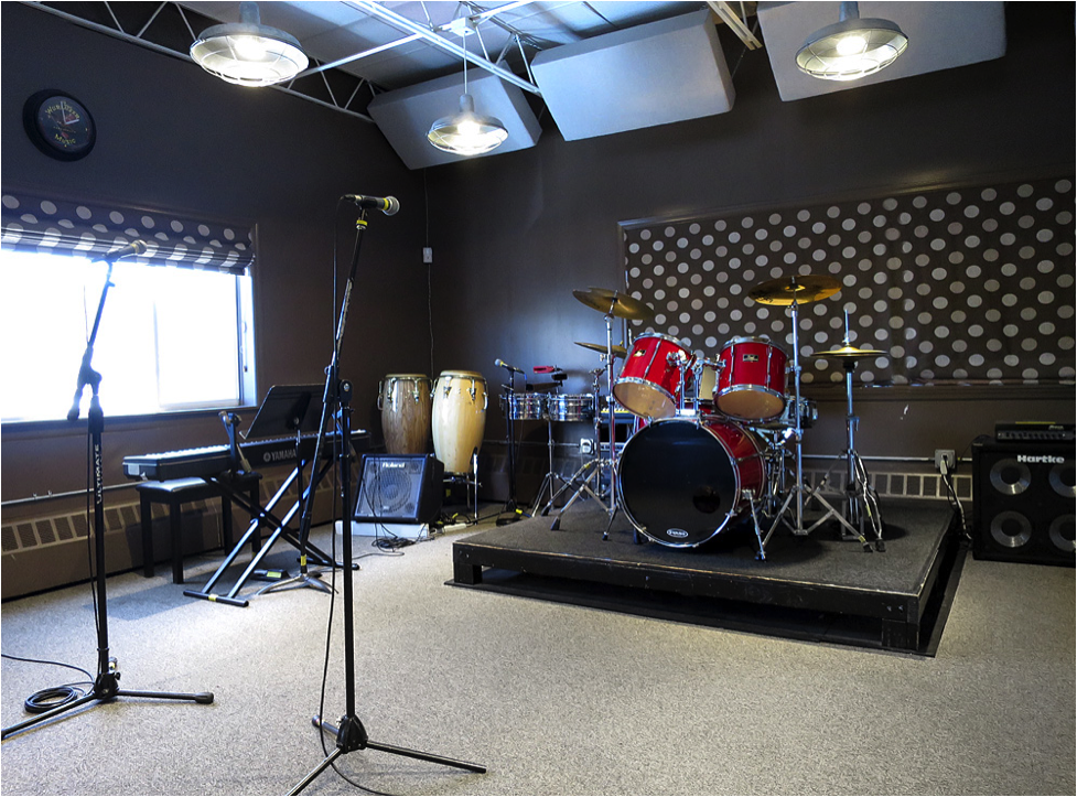 Studio 1 at Lagond Music School, Elmsford, NY Westchester