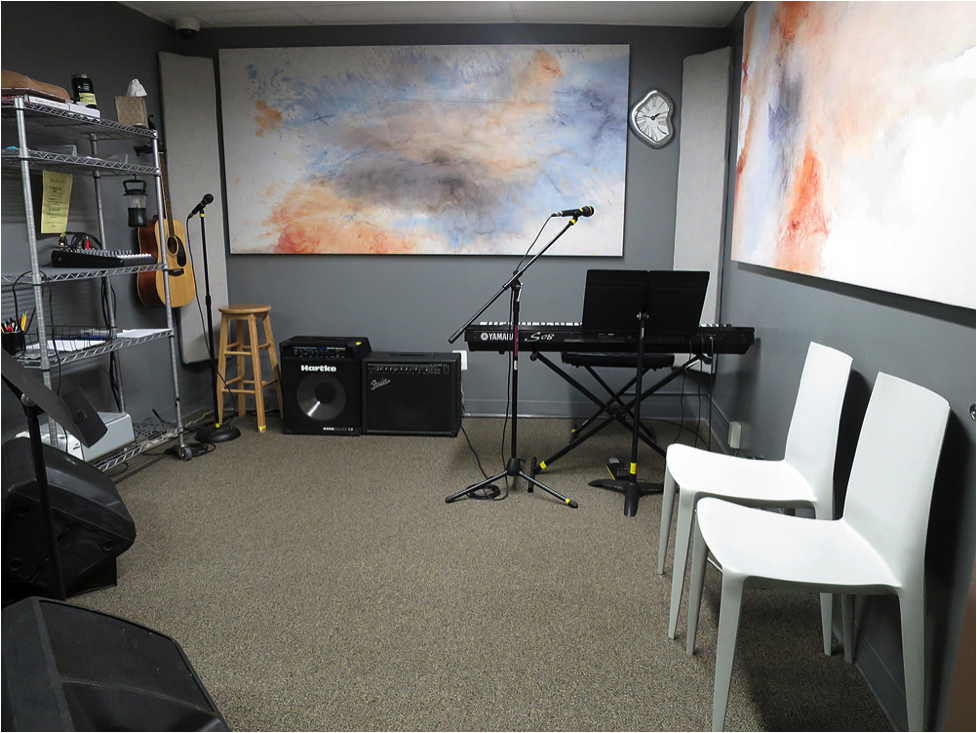 Studio 3 at Lagond Music School, Elmsford, NY Westchester
