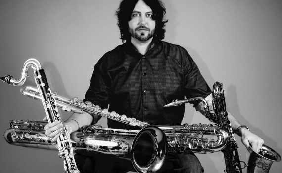 Brian Landrus, Saxophone instructor at Lagond Music School, Westchester, NY